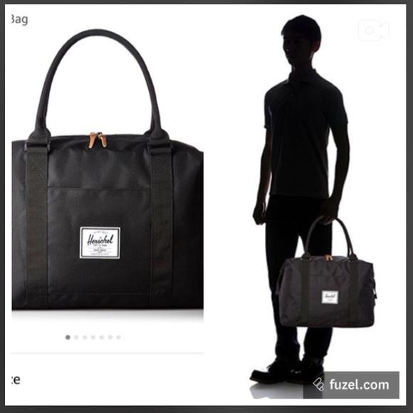 6d8294d1ea Herschel Supply Company Handbags - Black Herschel STRAND DUFFEL luggage  liontree